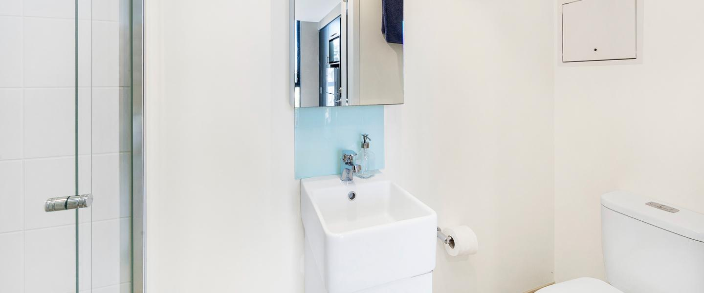 Merivale Twin Loft Bathroom